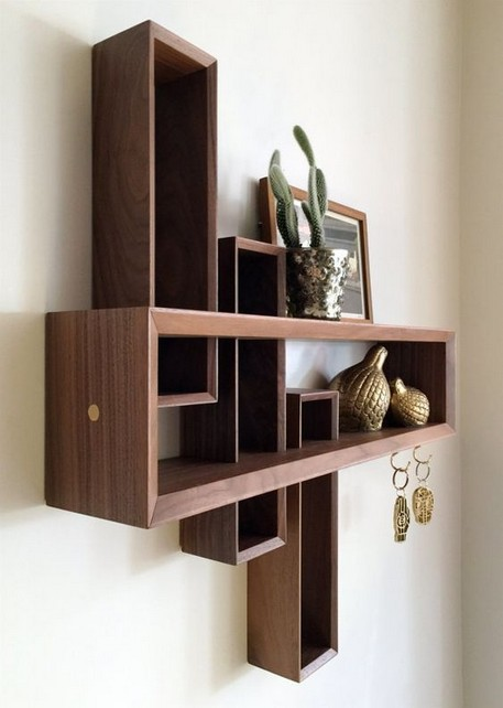 18 Luxury Corner Shelves Ideas 16