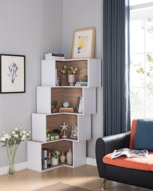 18 Luxury Corner Shelves Ideas 18