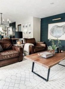 18 Modern Rustic Living Room Furniture 04