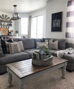 18 Modern Rustic Living Room Furniture 07