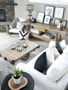 18 Modern Rustic Living Room Furniture 11