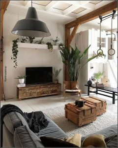 18 Modern Rustic Living Room Furniture 23