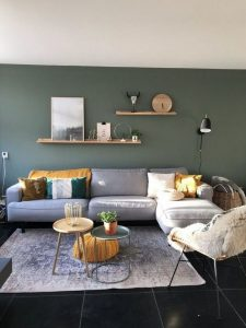 18 Popular Living Room Colors To Inspire Your Apartment Decoration 05