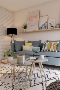 18 Popular Living Room Colors To Inspire Your Apartment Decoration 16