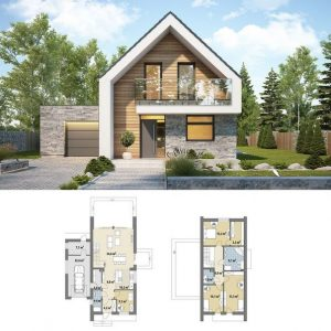 18 Top Choices Beautiful Modern 2 Story House 01