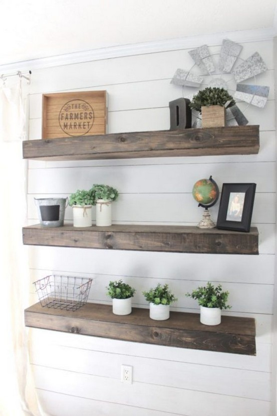 18 Top Choices Wood Wall Shelf 20