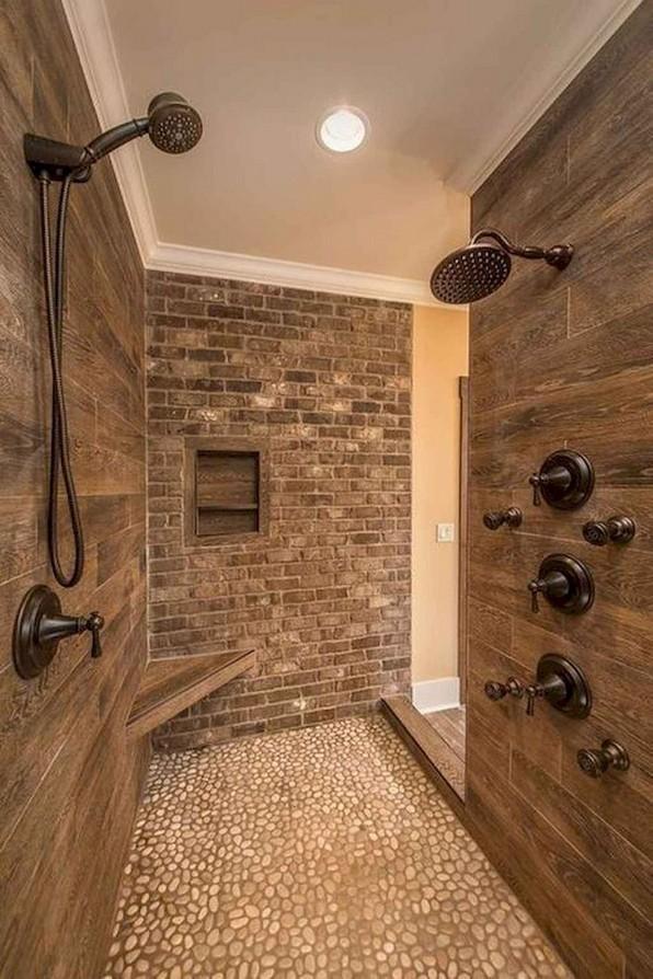 19 Bathroom Shower Makeover Decor Ideas 04