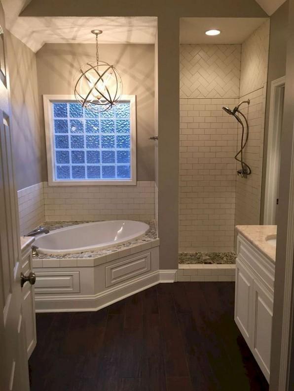 19 Bathroom Shower Makeover Decor Ideas 23