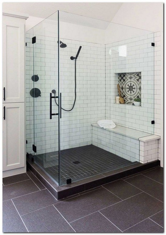 19 Bathroom Shower Makeover Decor Ideas 24