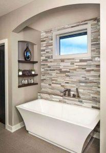 19 Pleasurable Master Bathroom Ideas 18