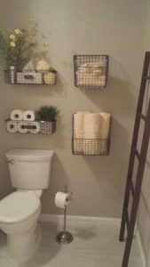 19 Small Bathroom Storage Decoration Ideas 15