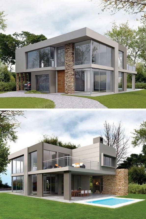 20 Beautiful Modern House Designs Ideas 07