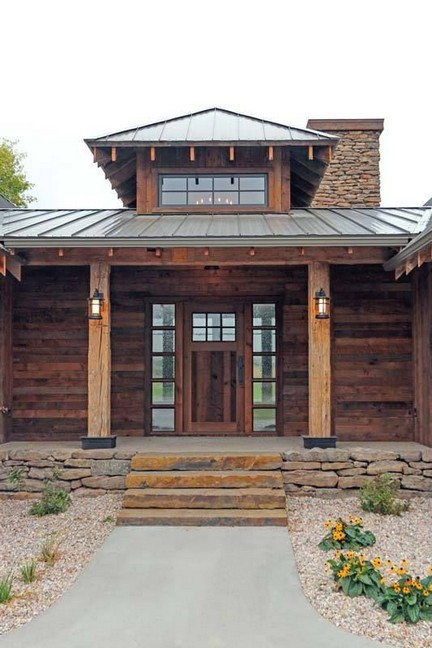 15 Best Rustic Mountain Home Plans 06