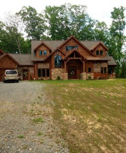 15 Best Rustic Mountain Home Plans 08