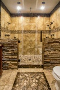 16 Best Rock Shower Ideas 14