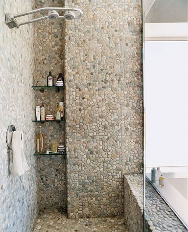 16 Best Rock Shower Ideas 19