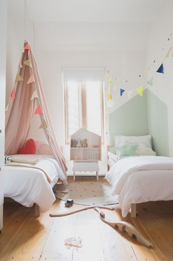 17 Awesome Bedroom Boy And Girl Decorating Ideas 22