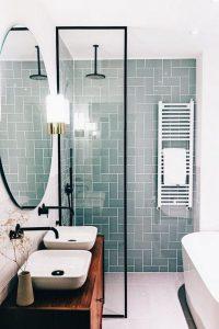 17 Awesome Small Bathroom Tile Ideas 01