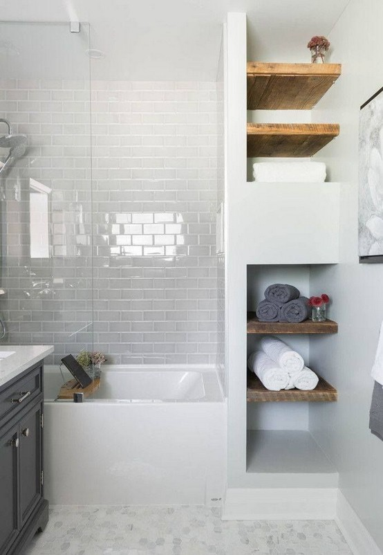 17 Awesome Small Bathroom Tile Ideas 22