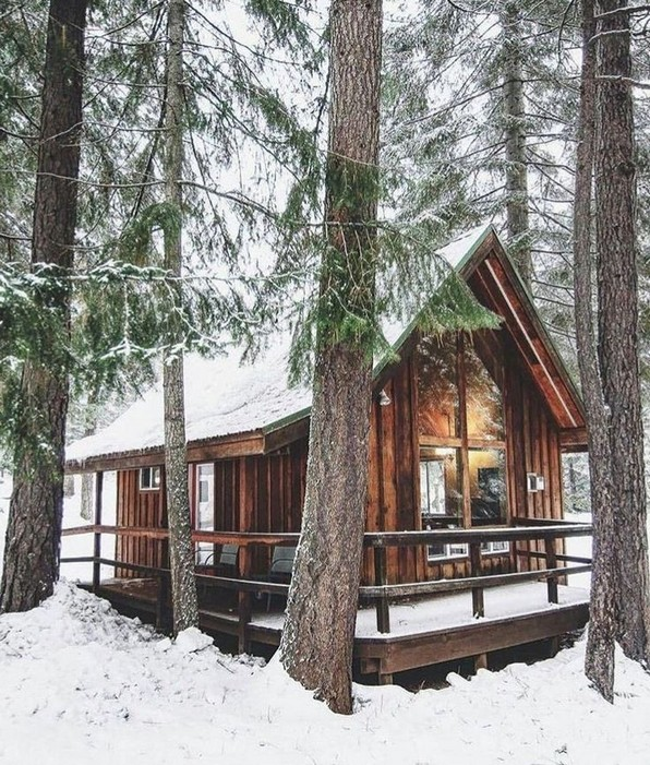 17 Beautiful Mountain Cabin Plans Hillside 02