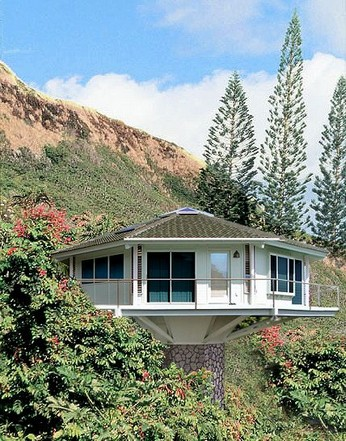 17 Beautiful Mountain Cabin Plans Hillside 07