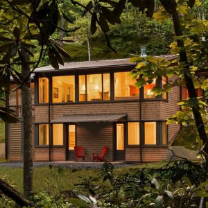 17 Beautiful Mountain Cabin Plans Hillside 21