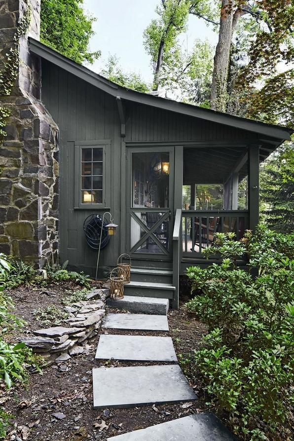 17 Beautiful Mountain Cabin Plans Hillside 23