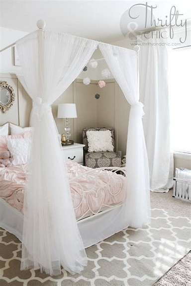 17 Girl Bedroom Decorating Ideas That She Will Love 11