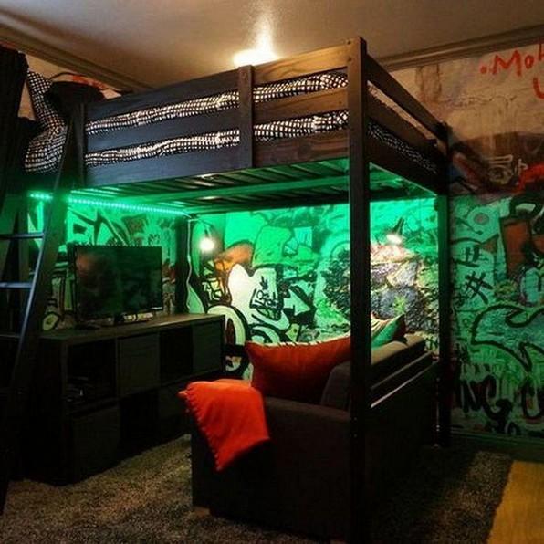 18 Best Of Loft Bedroom Teenage Decoration Ideas 03