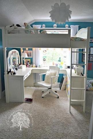18 Best Of Loft Bedroom Teenage Decoration Ideas 07