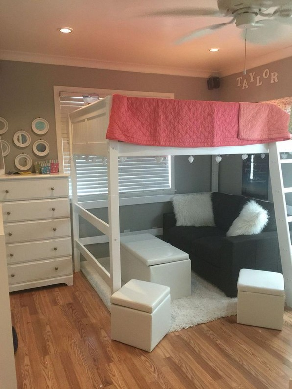 18 Best Of Loft Bedroom Teenage Decoration Ideas 08