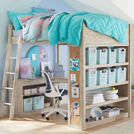 18 Best Of Loft Bedroom Teenage Decoration Ideas 20