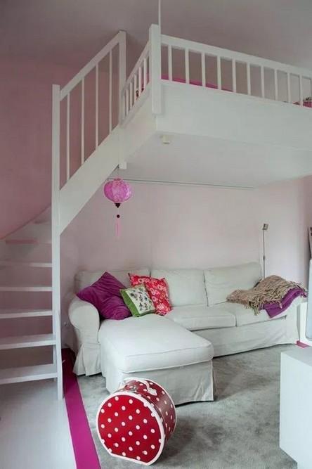 18 Best Of Loft Bedroom Teenage Decoration Ideas 23