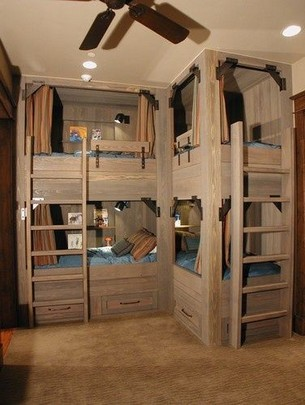 18 Ideas For Fun Children's Bunk Beds 20