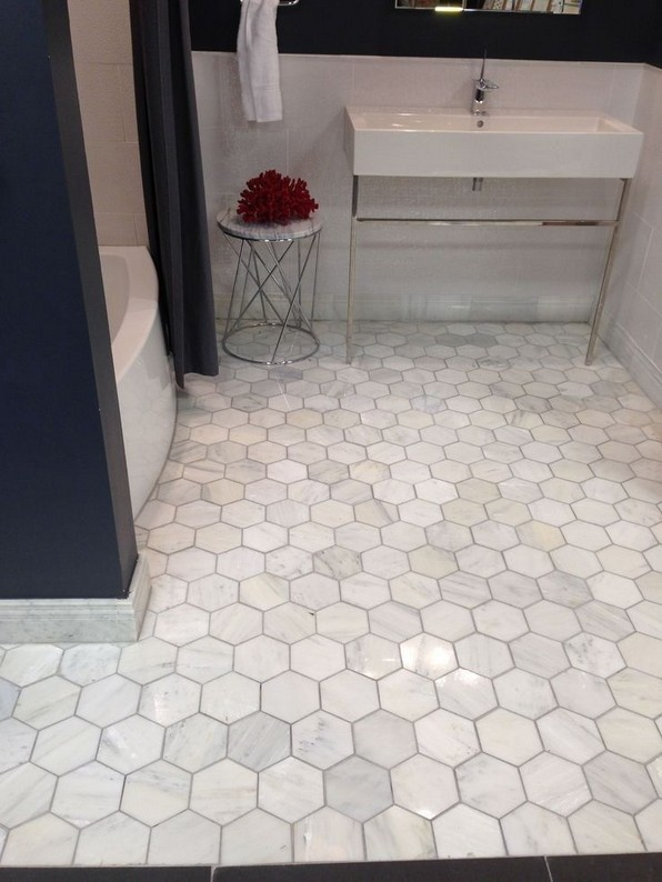 19 Beautiful Bathroom Tile Ideas For Bathroom Floor Tile 01