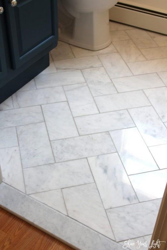 19 Beautiful Bathroom Tile Ideas For Bathroom Floor Tile 11
