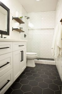 19 Beautiful Bathroom Tile Ideas For Bathroom Floor Tile 17