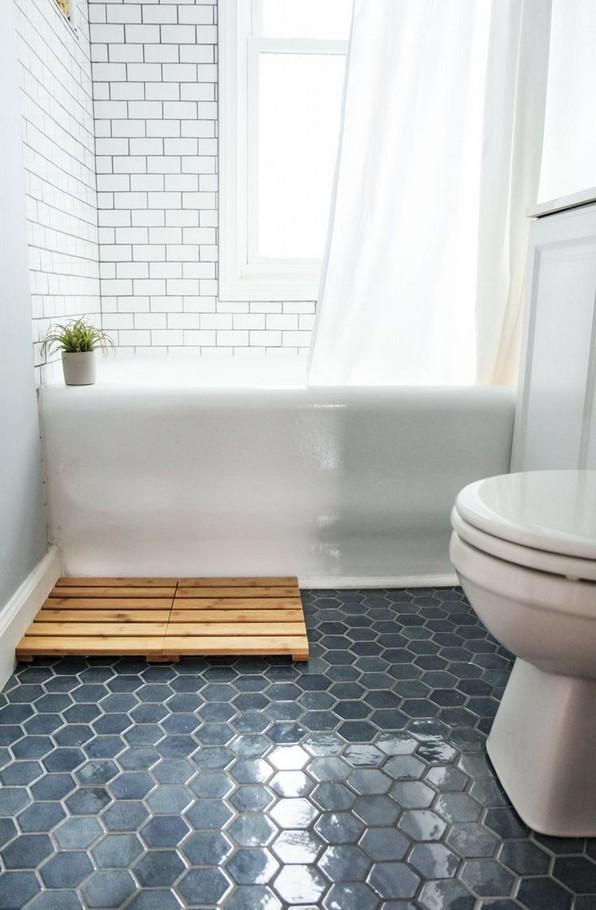 19 Beautiful Bathroom Tile Ideas For Bathroom Floor Tile 19