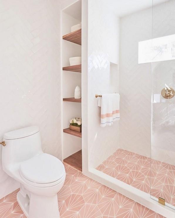 19 Beautiful Bathroom Tile Ideas For Bathroom Floor Tile 25