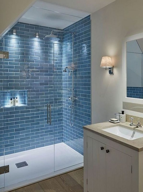 20 Beautiful Bathroom Shower Decoration 04