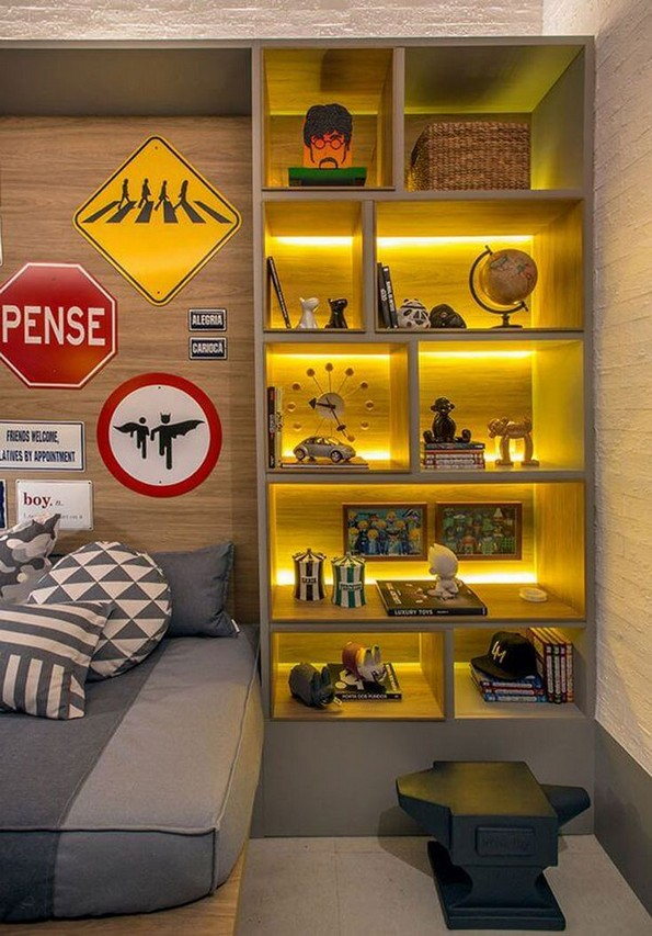 20 Great Ideas For Decorating Boys Rooms 08